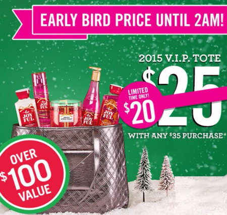 $20 VIP Tote With $35 Purchase