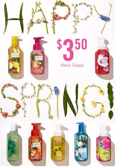 $3.50 Hand Soaps