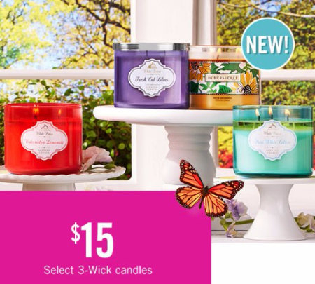 $15 Select 3-Wick Candles