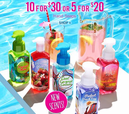 10 for $30 or 5 for $20 Hand Soaps