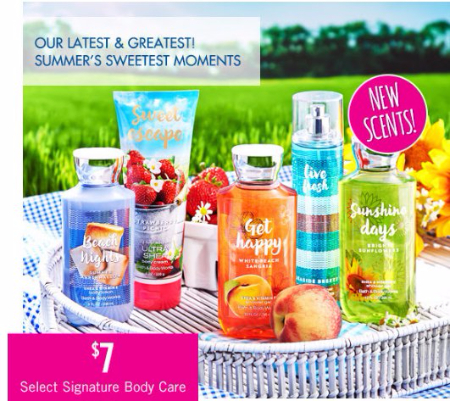 $7 Select Signature Body Care