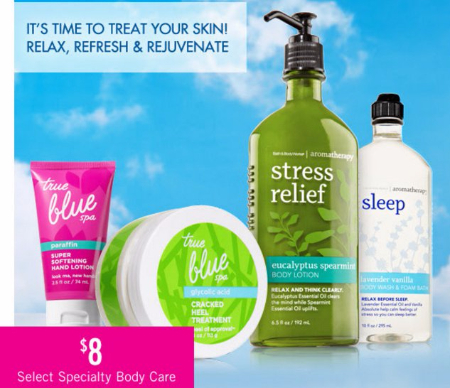 $8 Select Specialty Body Care