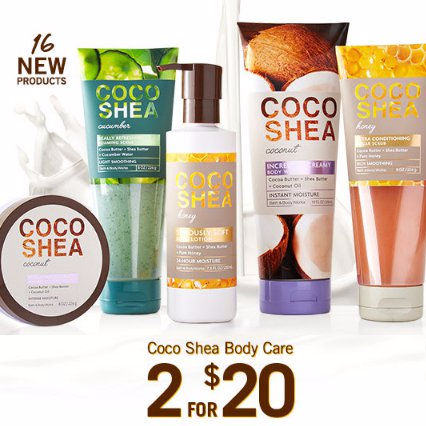 Coco Shea Body Care 2 for $20