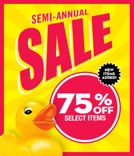 Bath & Body Works | 75% Off Semi-Annual Sale