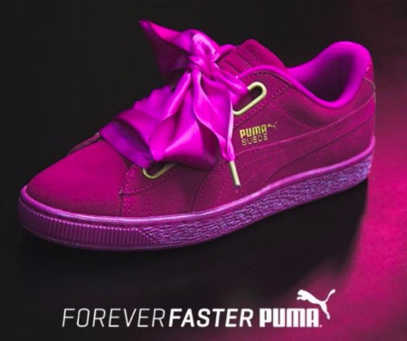 Journeys | Women's Puma Suede Heart Athletic Shoe