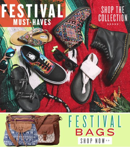 FESTIVAL MUST-HAVES at Journey's