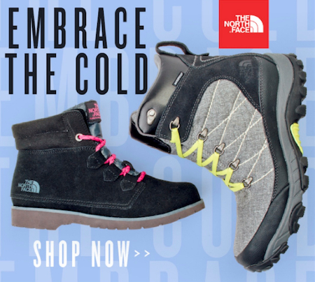 EMBRACE THE COLD WITH NORTH FACE