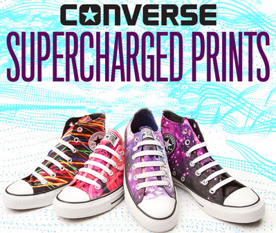Converse Supercharged Prints at Journeys