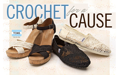 Crochet for a Cause feat. TOMS at Journeys