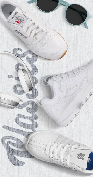 4912c2abc225 The Coolest Sneakers on the Block. Classic silhouettes still bring the  heat. Stop by and shop in store today.