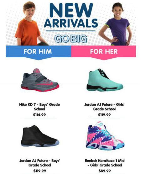 Shop New Arrivals at Kids Foot Locker