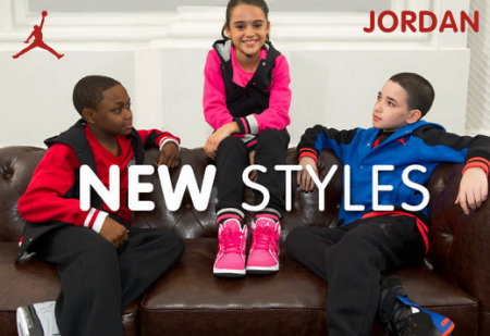 New Jordan Styles at Kids Foot Locker