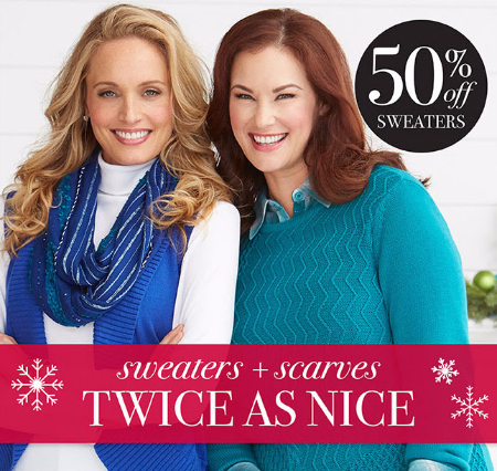 50% Off Sweaters