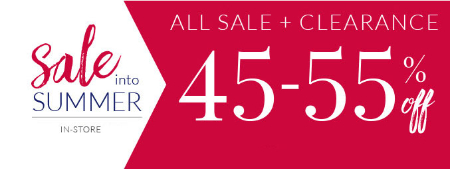 45-55% Off Sale & Clearance