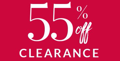 55% Off Clearance