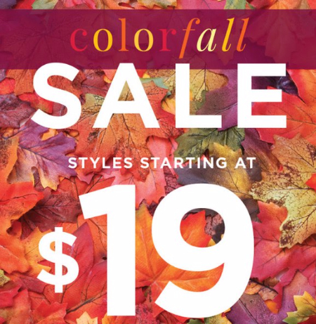 Colorfall Sale Event