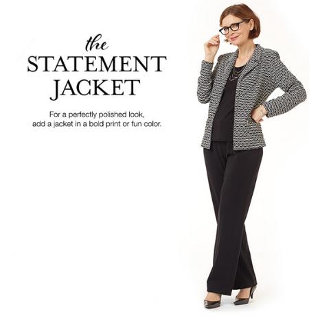 The Statement Jacket at Christopher & Banks/CJ Banks