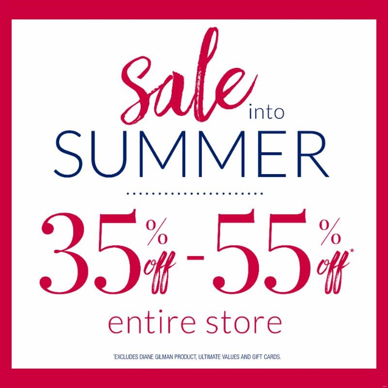 Sale into Summer