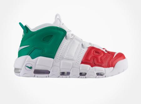 Baldwin Hills Crenshaw ::: Nike Air More Uptempo '96 ::: Foot Locker