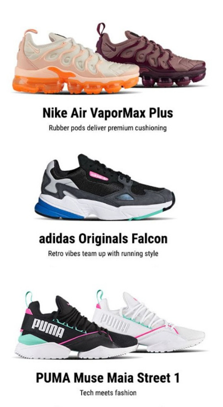 67ed7b51605ed7 ... Lady Foot Locker New Releases from Nike