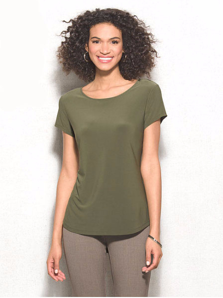 dressbarn | Basic Knit Tee