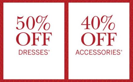 d3e279bde5e Outlets at Anthem     50% Off Dresses   40% Off Accessories ...