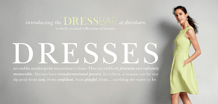 Introducing the DRESSBAR at dressbarn at dressbarn