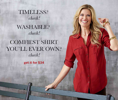 The Best-Selling Shirt is Back at Dress Barn