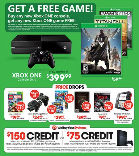 Weekly Specials at GameStop