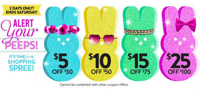 $5 off $30 & More at Charlotte Russe