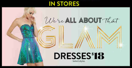 $18 Dresses at Charlotte Russe