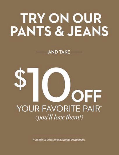 $10 OFF your Favorite Pair