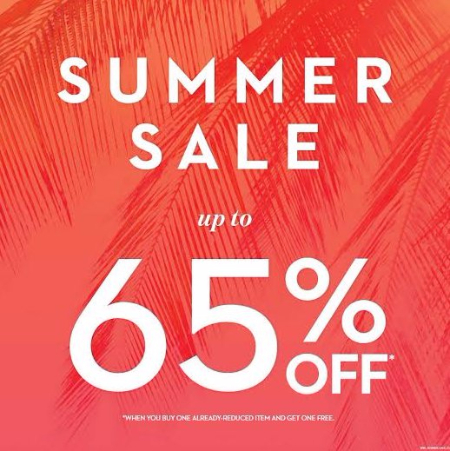 Summer Sale up to 65% Off