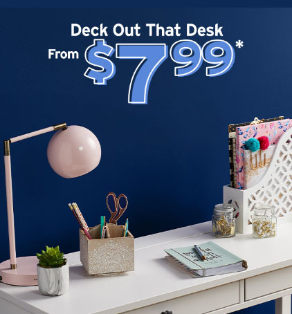 Lakewood Towne Center ::: Deck Out That Desk from $7 99 ::: Marshalls