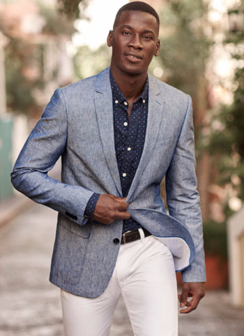 The Linen-Cotton Blazer is Back