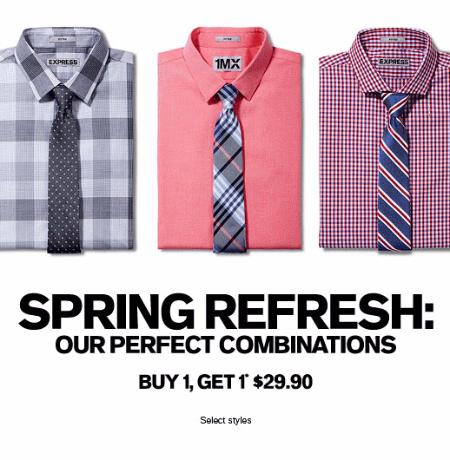 BOGO $29.90 Dress Shirts