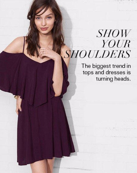 Show Your Shoulders at Express