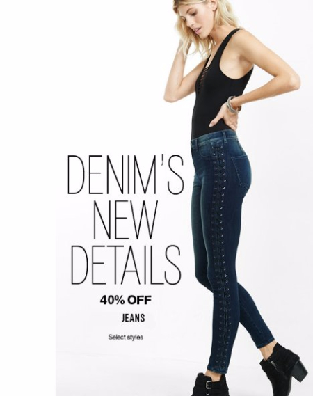 40% Off All Jeans