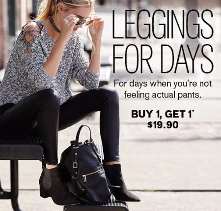 Leggings Buy 1, Get 1 for $19.90