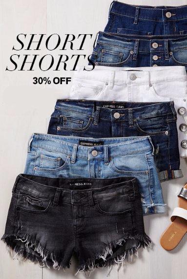30% Off Short Shorts