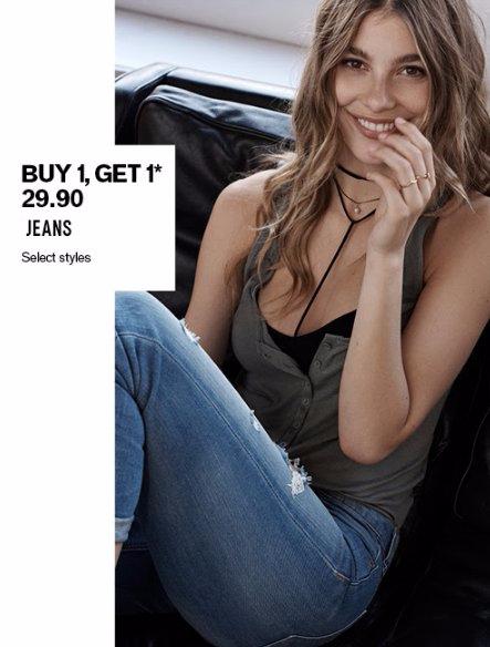 Buy 1, Get 1 $29.90 Jeans