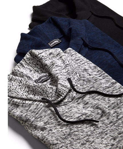 Shop The Shawl Neck Sweater at Express