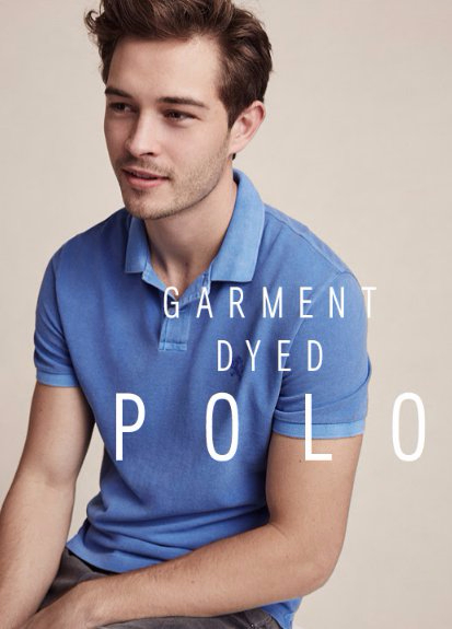 Garment Dyed Polos Buy 1, Get 1 50% Off