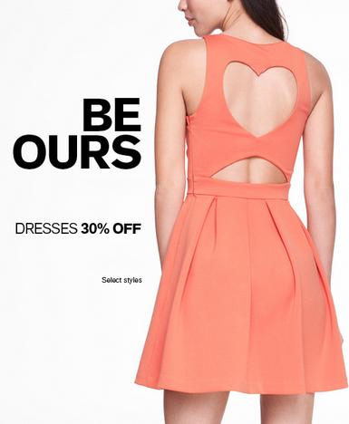30% Off Dresses at Express