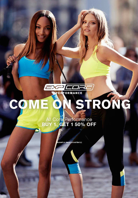 BOGO 50% Off All Core Performance at Express