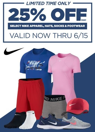 81192af2a92f Bay Plaza Shopping Center ::: 25% Off Select Nike Apparel, Hats ...