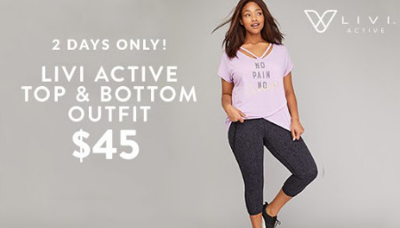036c156d13 The Crossing at Smithfield ::: LIVI Active Top & Bottom Outfit $45 ...