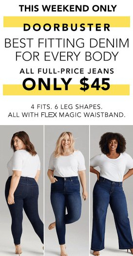All Full-Price Jeans $45
