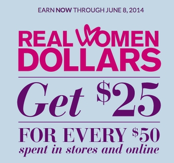 Earn Real Women Dollars at Lane Bryant