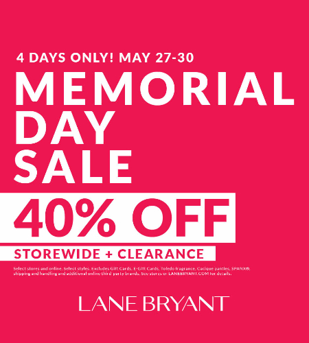 MEMORIAL DAY 40% OFF STOREWIDE + CLEARANCE